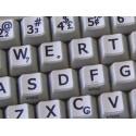 Portuguese Brazilian Large Lettering keyboard stickers