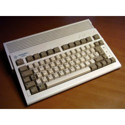 Commodore A600/A600HD non transparent keyboard stickers