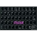 Italian non transparent keyboard  stickers