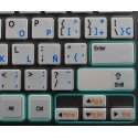Function keys for laptop non-transparent keyboard sticker