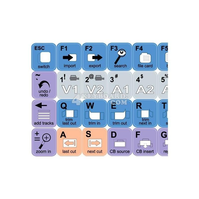 Lightworks keyboard sticker