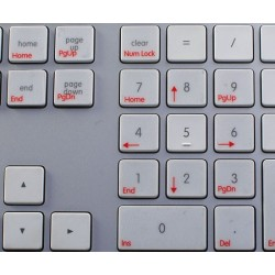 Boot Camp English transparent keyboard sticker APPLE SIZE
