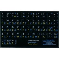 Russian-Italian-English non transparent keyboard  stickers