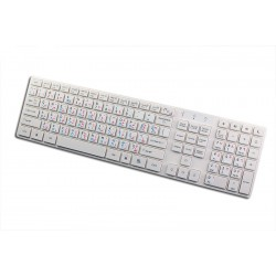 Hebrew Arabic English non transparent keyboard  stickers