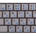 Apple Japanese Hiragana English non-transparent keyboard sticker