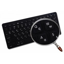 Apple English non-transparent keyboard sticker Lower & Upper Case