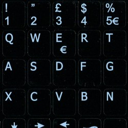 Italian Notebook keyboard sticker