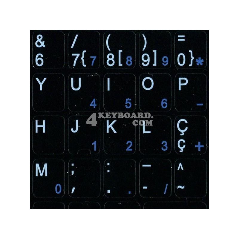 Portuguese Notebook keyboard sticker