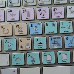 Ableton Live Galaxy series keyboard sticker