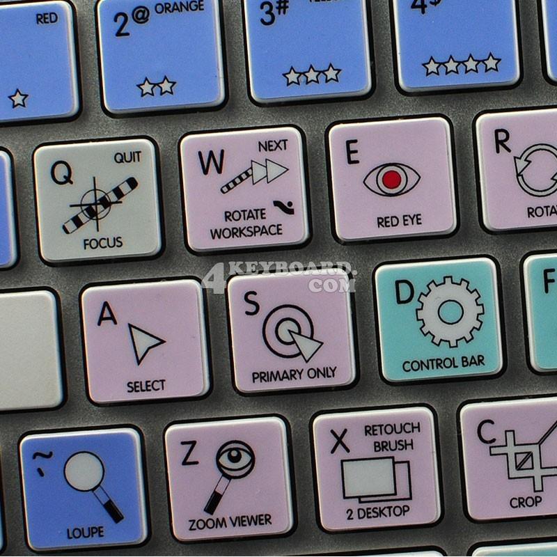 APERTURE Galaxy series keyboard sticker
