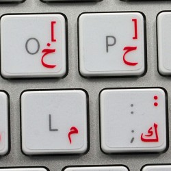 image relating to Printable Keyboard Stickers named Printable Keyboard Language Style Stickers