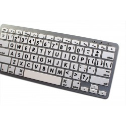 Apple English Large Lettering (Upper Case) non-transparent keyboard sticker