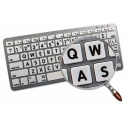 Apple English Large Lettering (Upper Case) non-transparent keyboard sticker