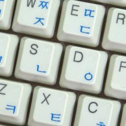 Korean transparent keyboard  stickers
