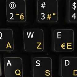 French AZERTY English non...