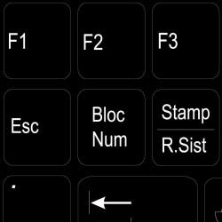 Function keys Italian...
