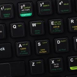 Xcode keyboard sticker