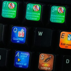FL STUDIO keyboard sticker