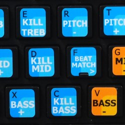 MIXVIBES DVS PRO keyboard sticker