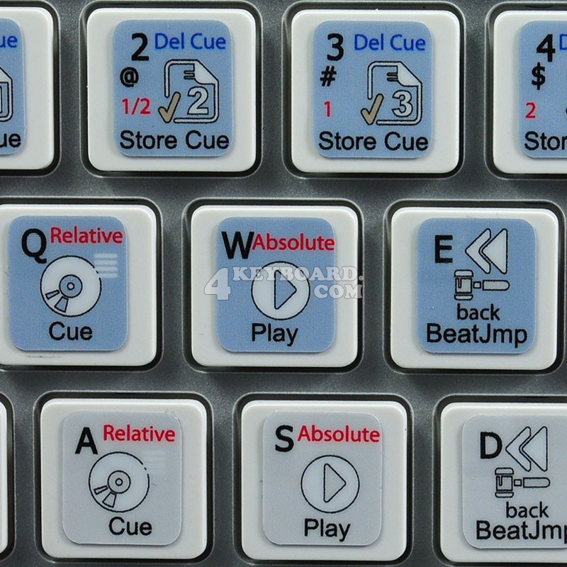 TRAKTOR PRO 2 keyboard sticker