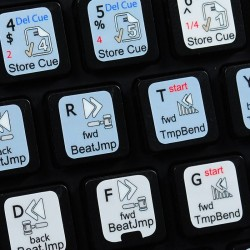 TRAKTOR SCRATCH PRO keyboard sticker