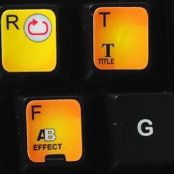 Corel VideoStudio keyboard sticker