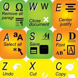 Microsoft Word keyboard...