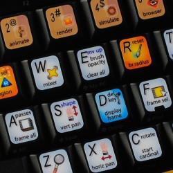 Autodesk Softimage keyboard...