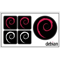 Debian sticker