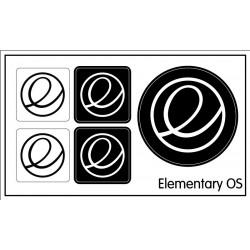 Elementary OS sticker