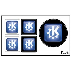 KDE sticker