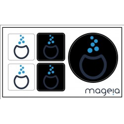 Mageia sticker