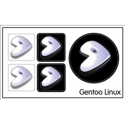 Gentoo Linux sticker