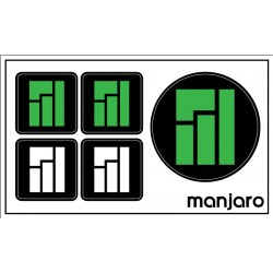 Manjaro sticker