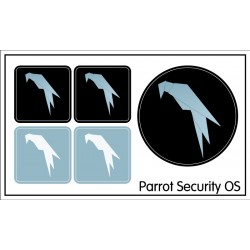 Parrot Security OS sticker