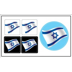 Israel Flag sticker