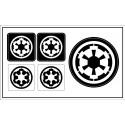 "Galactic Empire (""Star Wars"") sticker"