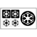 "Sith Empire (""Star Wars"") sticker"