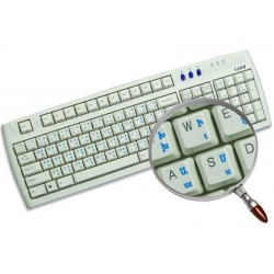 Armenian transparent keyboard stickers