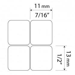 Dvorak English non-transparent keyboard  stickers