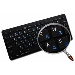 Norwegian - English non transparent keyboard  stickers
