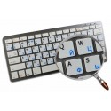 Ukrainian-English non transparent keyboard  stickers