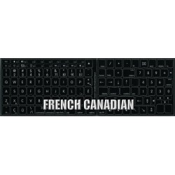 Apple French Canadian non-transparent keyboard sticker