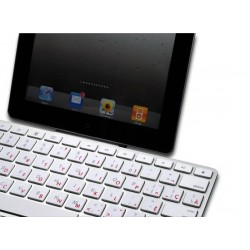 Apple French Canadian transparent keyboard sticker
