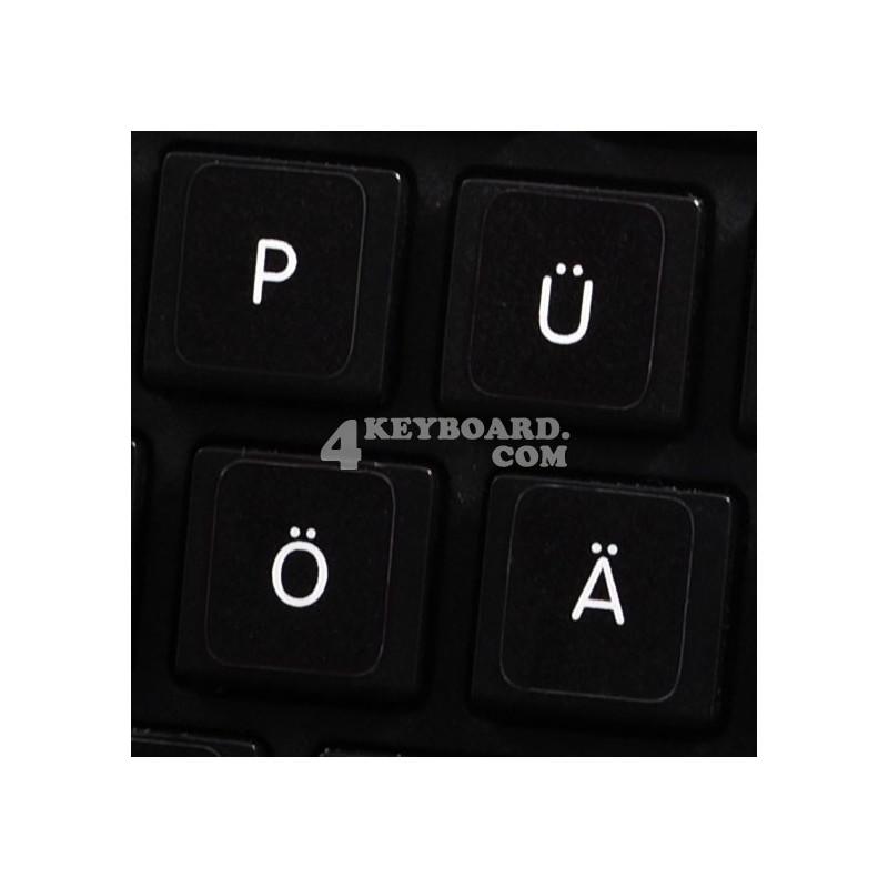 Apple German non-transparent keyboard sticker