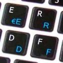 Apple Italian English non-transparent keyboard sticker