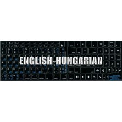 Apple Hungarian English non-transparent keyboard sticker