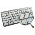 Apple Danish English non-transparent keyboard sticker