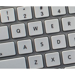 Apple Danish non-transparent keyboard sticker
