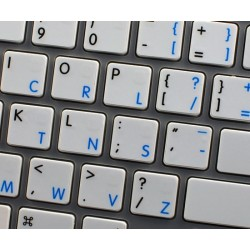 Apple Dvorak English non-transparent keyboard sticker